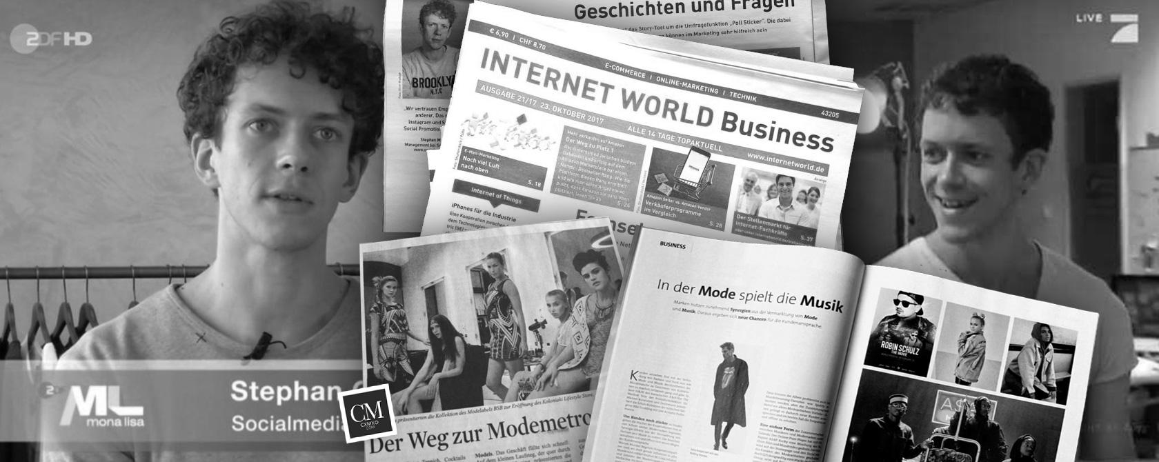 Εμπειρογνώμονας στην τηλεόραση, σε εφημερίδες και ως ομιλητής σε εκδηλώσεις: Social Media Marketing με τον Stephan Czaja