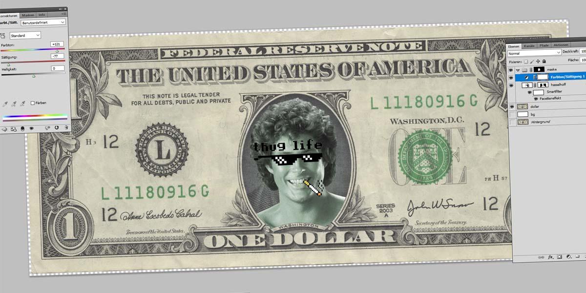 Δολάριο Hasselhoff - Photoshop Tutorial: Εργαλεία, περικοπή, μαγικό ραβδί και μάσκες