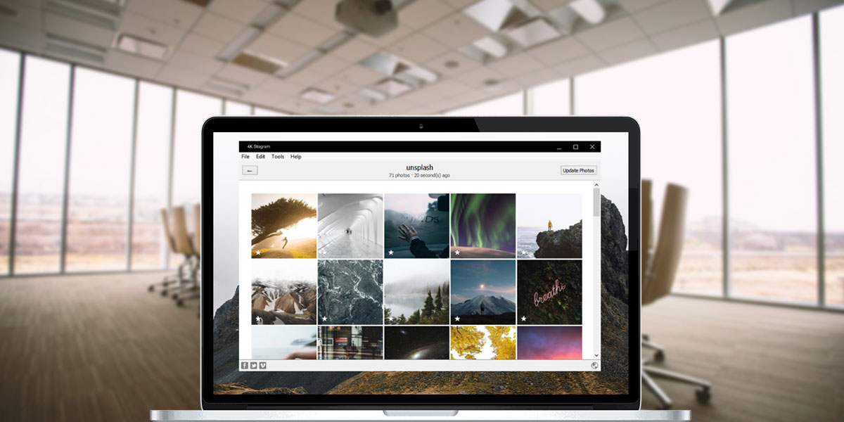 4K Stogram: Λήψη φωτογραφιών, βίντεο, ιστοριών και ανιχνευτών τάσεων - Δοκιμή εργαλείων Instagram